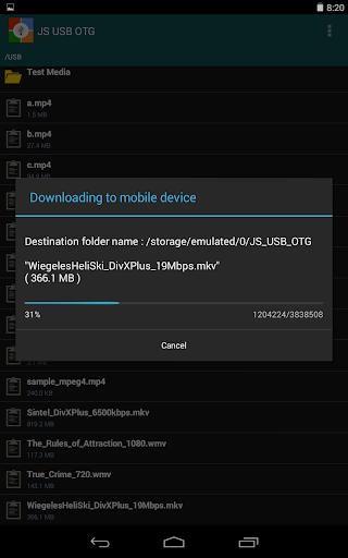 【免費工具App】JS USB OTG Trial-APP點子