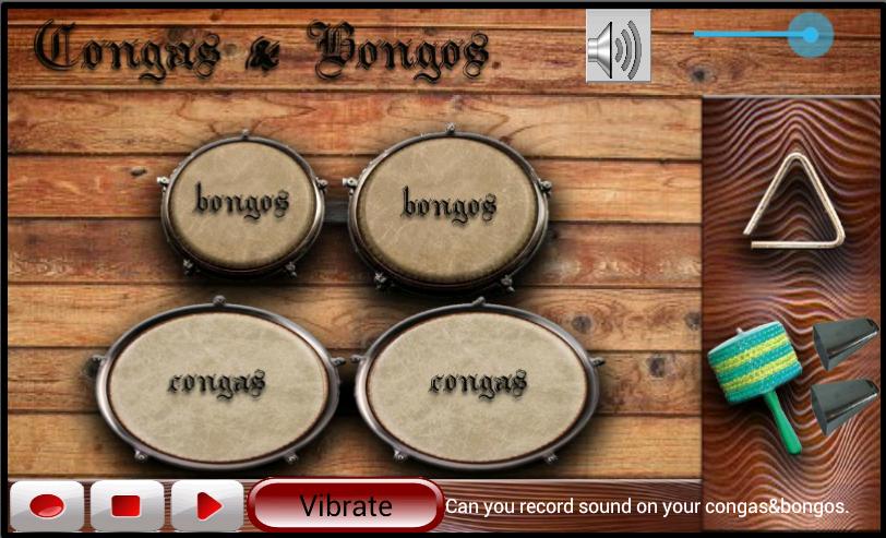 Congas & Bongos - screenshot