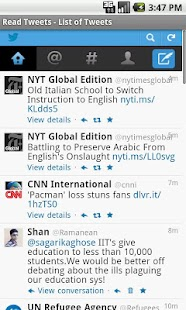 Read Tweets- screenshot thumbnail