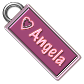 Angela Name Tag