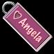 Angela Name Tag