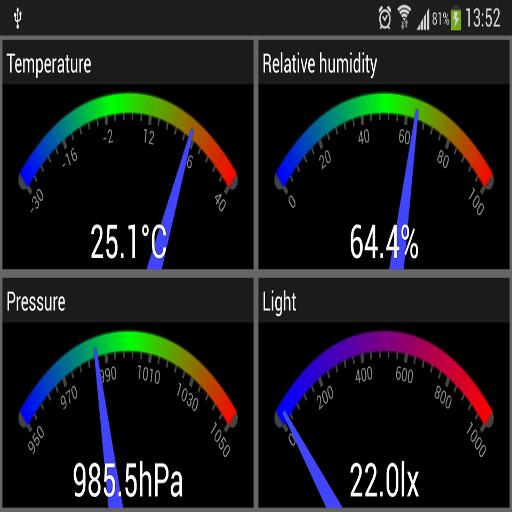 Phone Sensors Icon