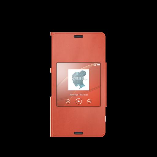 Xperia™桌布︰橙色