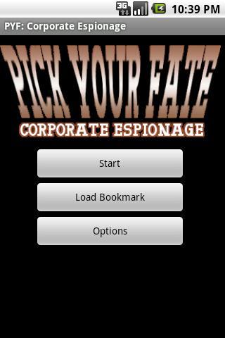 PYF: Corporate Espionage Demo- screenshot