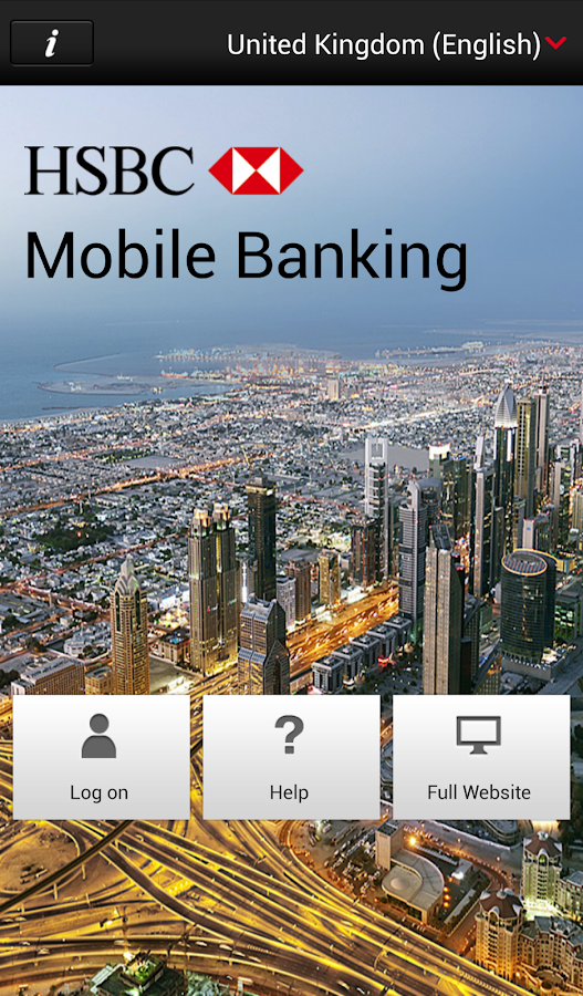 HSBC Mobile Banking - screenshot