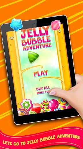 果冻泡泡冒险 - 免费糖果醒目的游戏