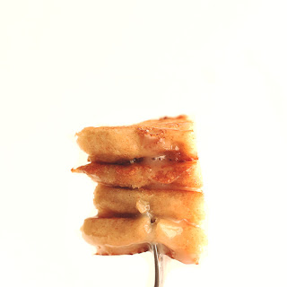 Vegan Cinnamon Roll Pancakes.