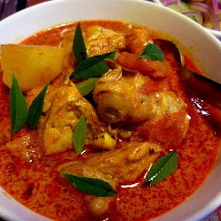 MALAYSIAN SPICY CHICKEN.