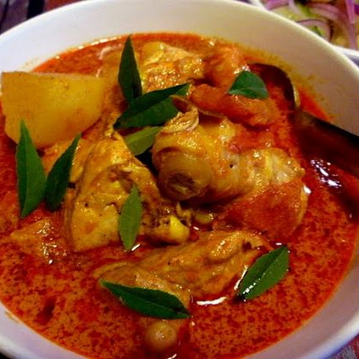 MALAYSIAN SPICY CHICKEN Recipe