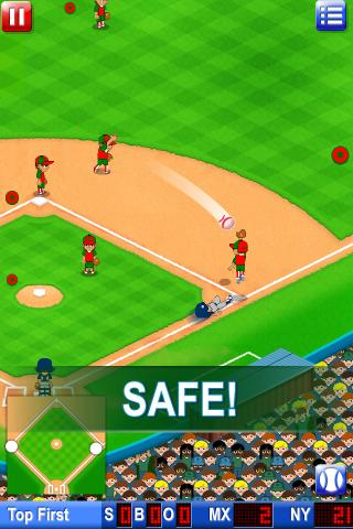 Big Hit Baseball Premium - screenshot