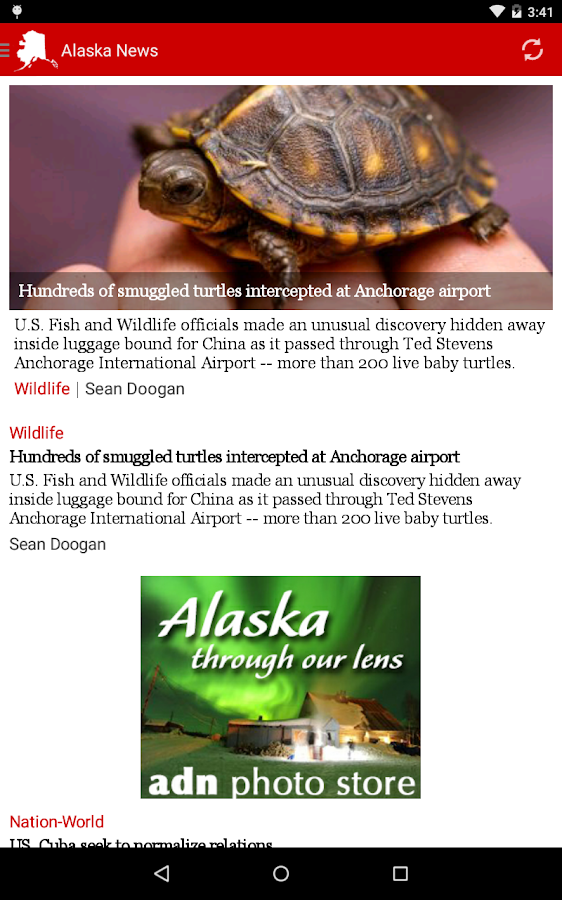 Alaska Dispatch News - screenshot