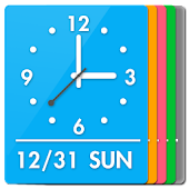POP CLOCK WIDGET