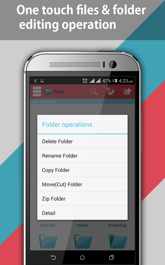 File Explorer and File Manager- screenshot