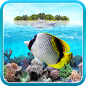 Tropical Ocean Live Wallpaper icon