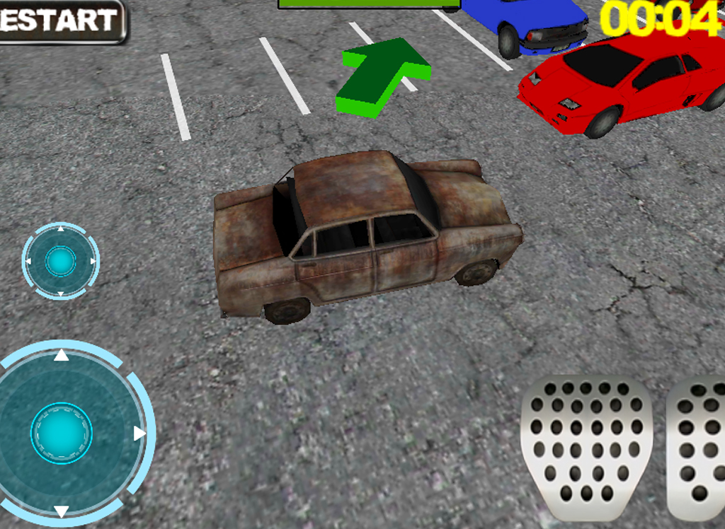 Real Car Parking 3D- screenshot