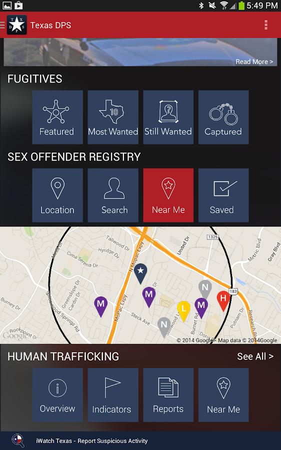 That dps sex offender registry