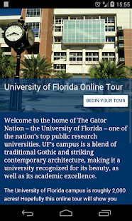 University of Florida Tour- screenshot thumbnail