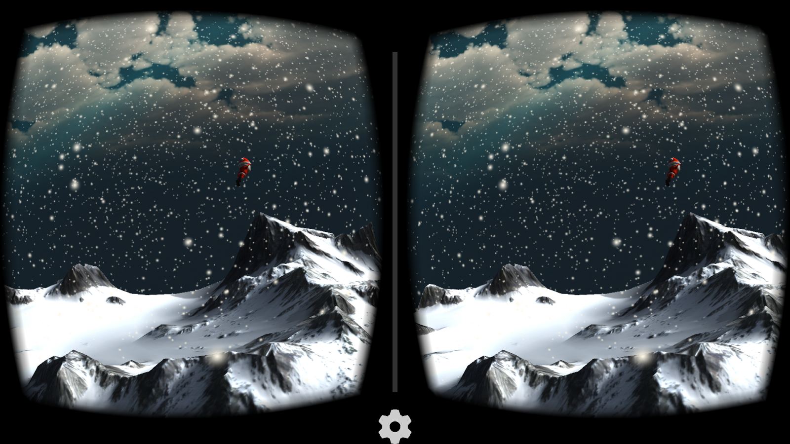 Snow Mountain VR for Cardboard- screenshot
