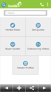 InsideUp - Business Services screenshot