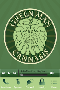 Green Man Cannabis - screenshot thumbnail