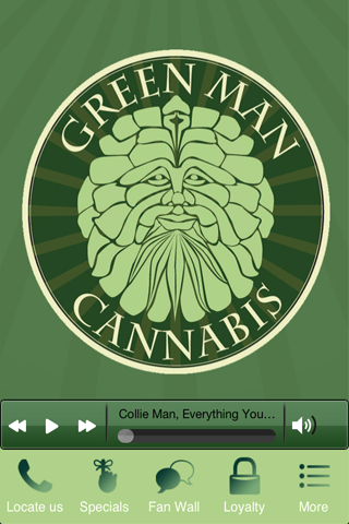 Green Man Cannabis - screenshot