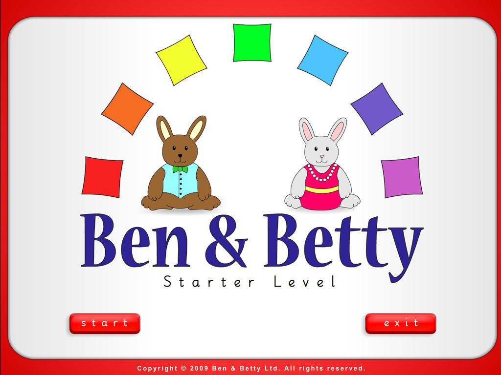 Ben & Betty (Starter - Book 4)- screenshot