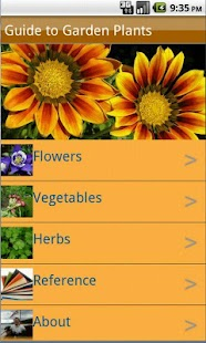 Garden Plants Growing Guide - screenshot thumbnail