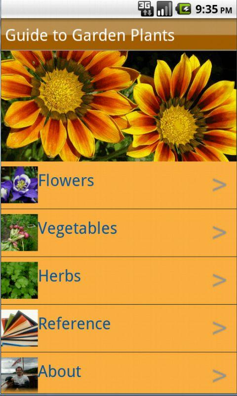 Garden Plants Growing Guide - screenshot