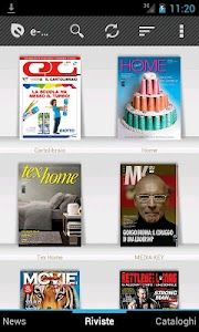 e-dicola - kiosk for magazines screenshot 0
