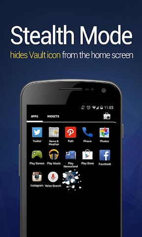 android Vault-Hide SMS,  Pics & Videos Screenshot 6