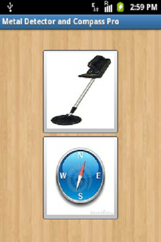 Metal Detector and Compass Pro