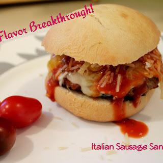 Italian Sausage Sandwiches!