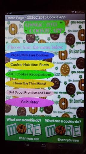 GSSGC 2015 Cookie App