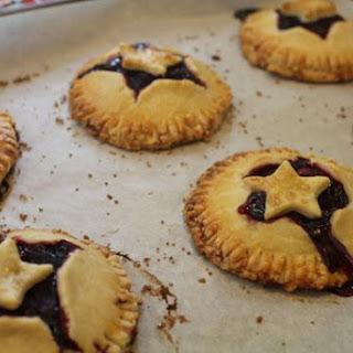 Chocolate Raspberry Hand Pies