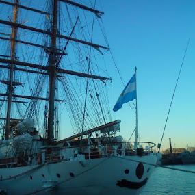 The Ship by Sandip Roy - Transportation Boats
