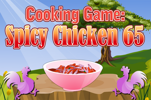 Cooking game :spicy chicken 65