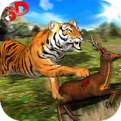 Wild Tiger Jungle Hunt 3D