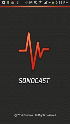 Sonocast