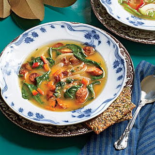 Sausage-and-Sweet Potato Soup