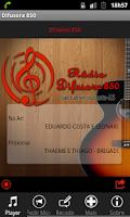 Screenshot of Rádio Difusora 850