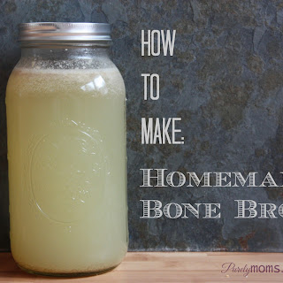 Homemade Bone Broth using a Slow Cooker
