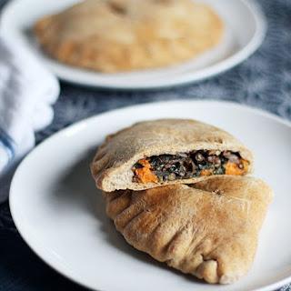 Spiced Lentil, Sweet Potato & Kale Whole Wheat Pockets.