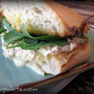 Garlic Toasted Ciabatta Tuna Melt.