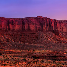 sunrise glow by Tim Monk - Landscapes Deserts