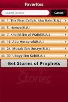 Screenshot of Stories of Sahabas in Islam