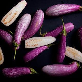 Baby Eggplant Parm.
