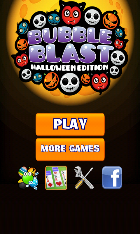 Bubble Blast Halloween- screenshot