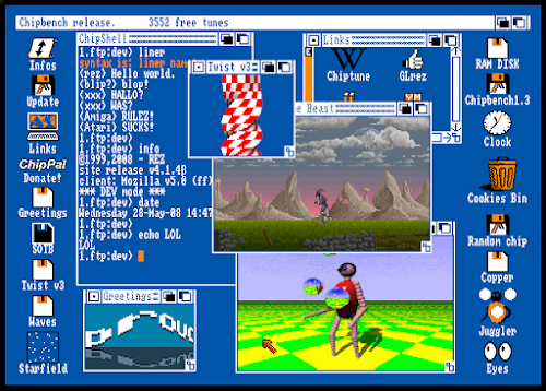 Amiga Workbench Emulator By Christophe R 233 Sign 233 Chrome