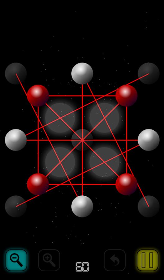 Untangle Space - screenshot