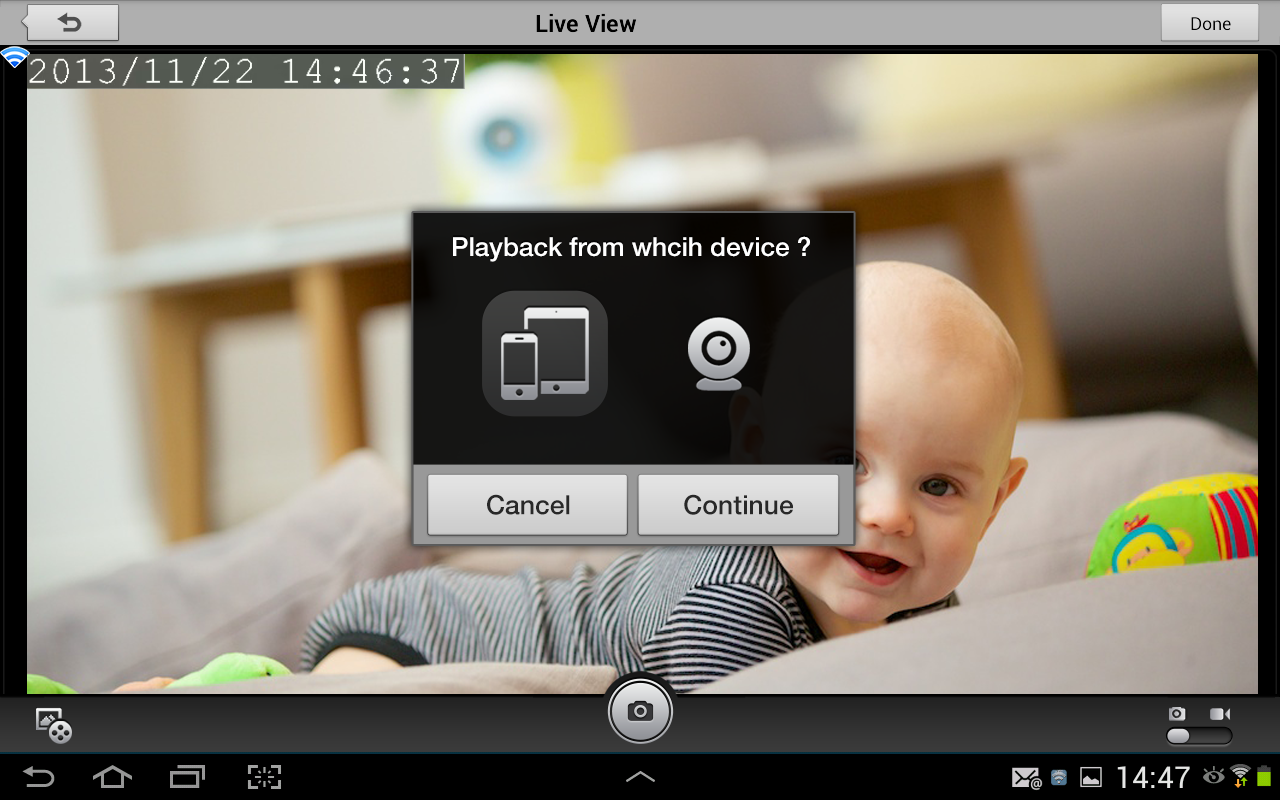 mydlink baby camera monitor android apps on google play. Black Bedroom Furniture Sets. Home Design Ideas